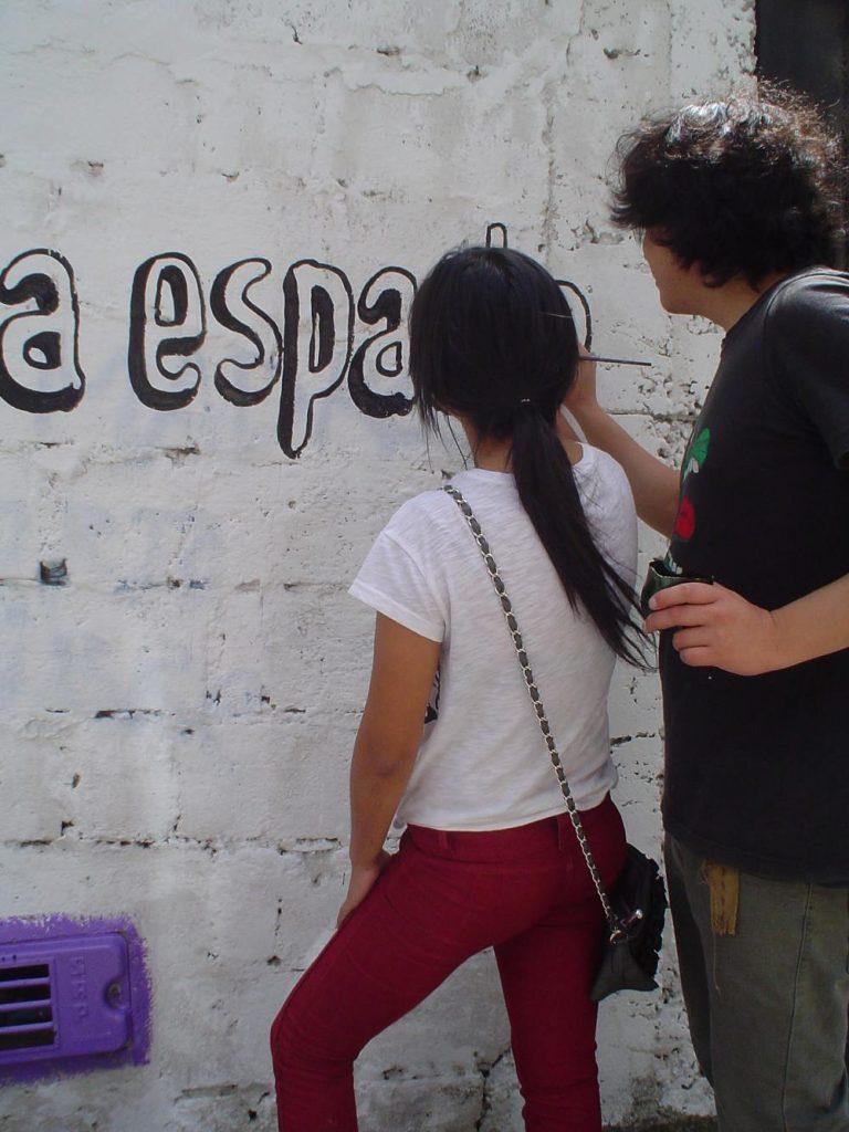 Arte urbano en Baños